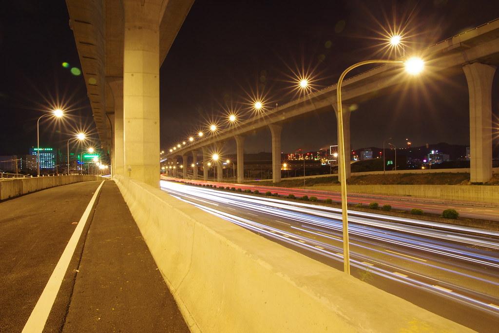 國道一號-車軌