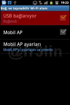 Android Cihazı Modem Olarak Kullanmak-4
