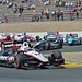 Will Power leads the field through the Turn 9 chicane during the GoPro Grand Prix of Sonoma