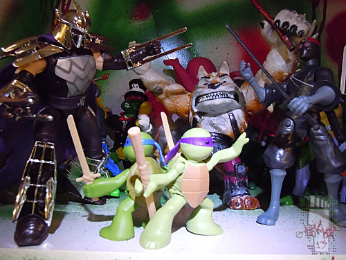 Nickelodeon  TEENAGE MUTANT NINJA TURTLES :: NINJAS in TRAINING, LEONARDO & DONATELLO xx // .. BOOGEYMEN (( 2013 ))