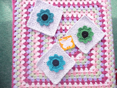 3 'Anemone  Squares'  from ATheeC - Thank you!