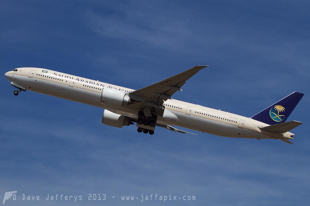 HZ-AK13 - B77W - Saudi Arabian Airlines