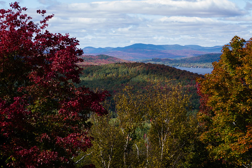 autumn trees sky lake mountains fall water colors clouds forest landscape woods unitedstates maine rangeley 45200mm dmcg10