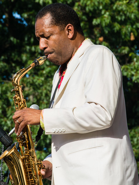 Donald Harrison @ Central Jersey Jazz Festival