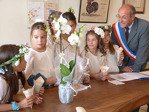 le maire et les enfants du mariage