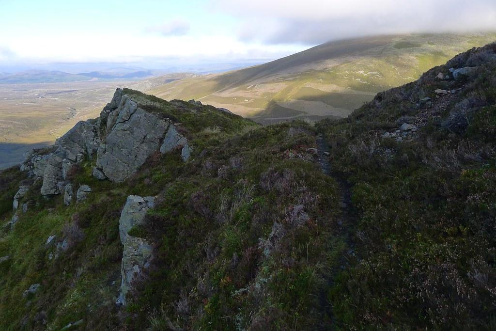 Above Coire Chuaich