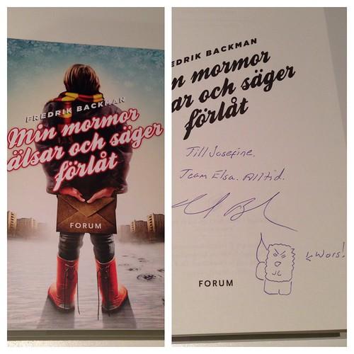 Inköp på Bokmässan 2013