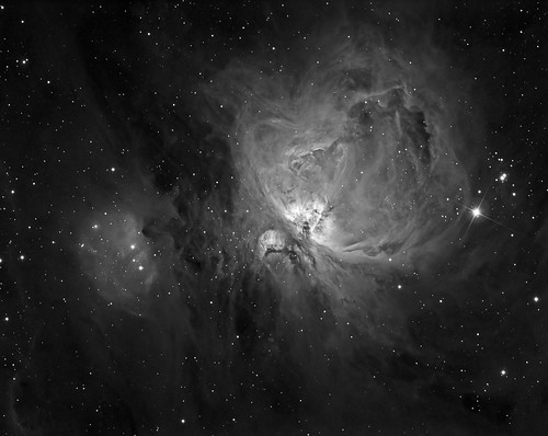 Orion Nebula in Ha - M42 by Mick Hyde