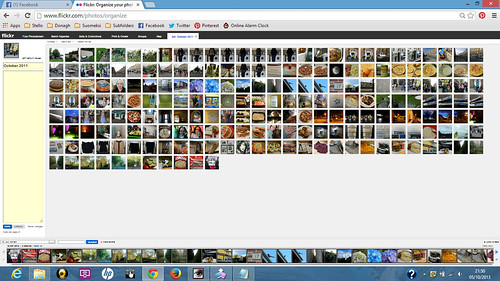 Organising Flickr sets with lots of pictures