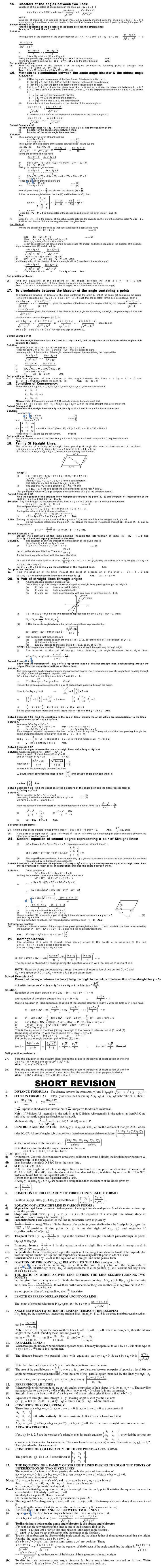 Maths Study Material - Chapter 17