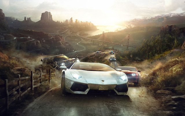 The Crew 2014 Game Wide HD and Widescreen Wallpaper