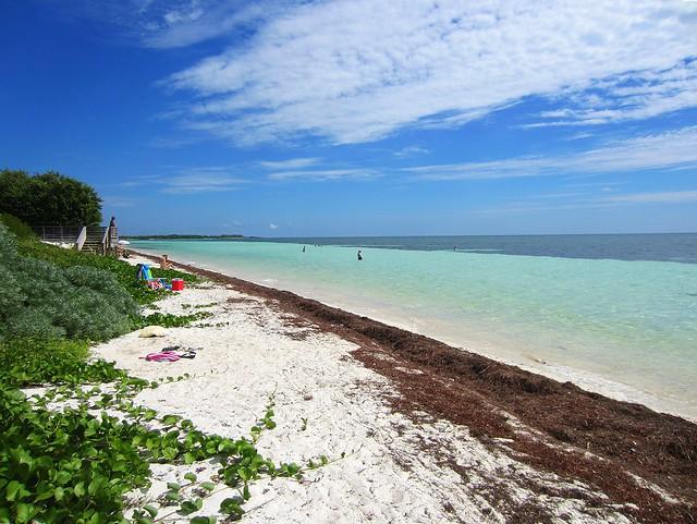 Atlantic-side Beach at Bahia Honda