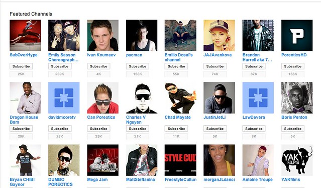 DanceOn - YouTube_channels