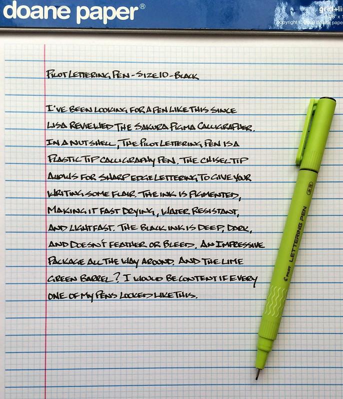 Pilot Lettering Pen