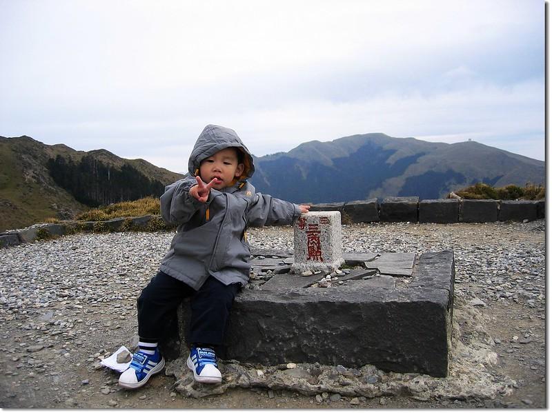 貝貝的第一座台灣百岳--石門山 1