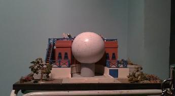 Maqueta del planetario