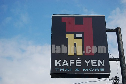 Kafe Yen thai restaurant