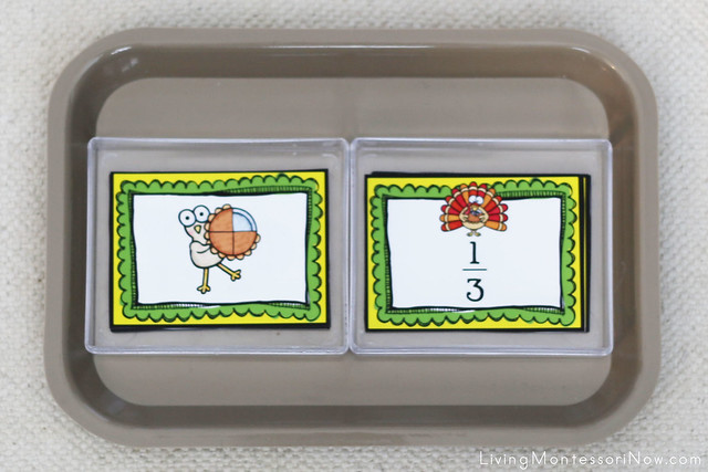 Turkey Fractions Tray