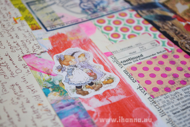 Art Journal Detail: Cute Girl Sticker