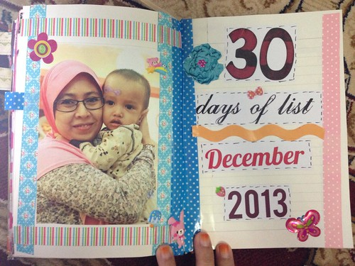 30 days of lists december 2013