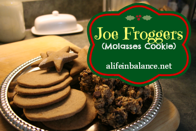 my family has been making joe froggers molasses and rum