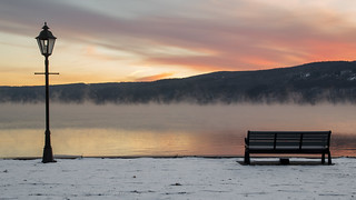 Keuka Lake - Morning Fog