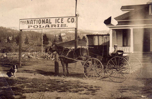 1900 National Ice Company Floriston CA