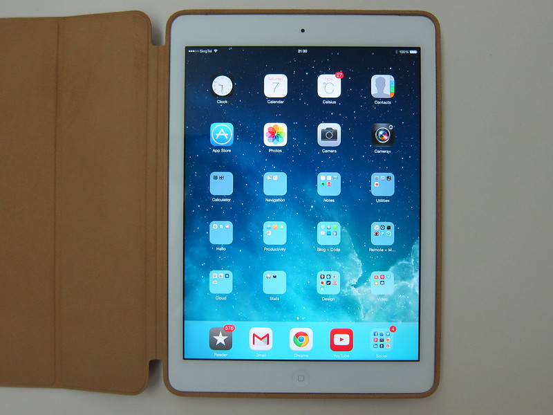 Apple iPad Air Smart Case - With iPad Air