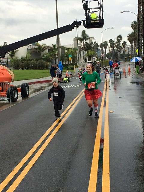 Santa Monica-Venice Christmas Run-Kid's Run 2013