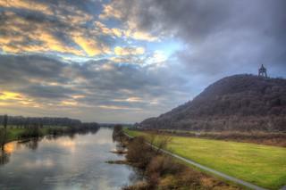 Weser December Sunset 7