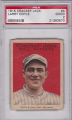 1915 Cracker Jack Larry Doyle #4