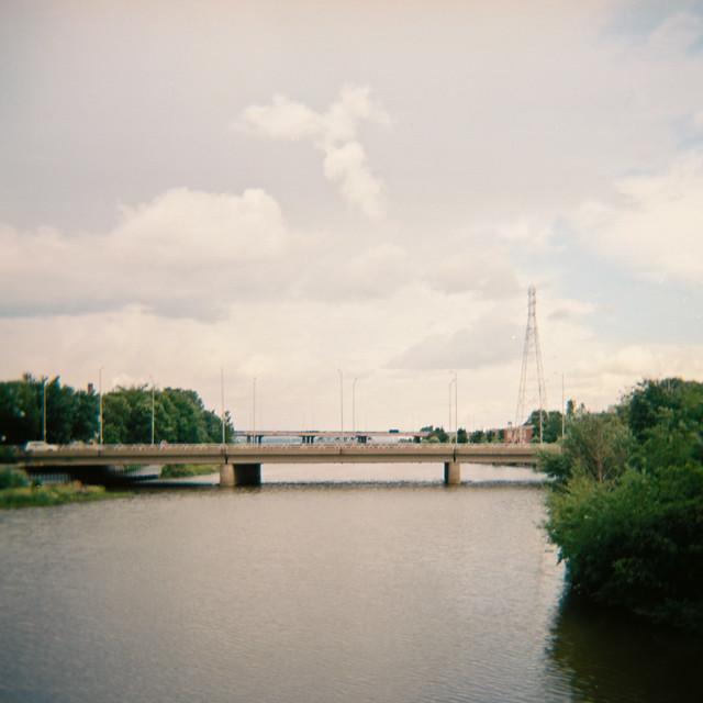 Holga sur le pont