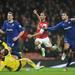 Theo Walcott score the 2nd Arsenal goal by Stuart MacFarlane