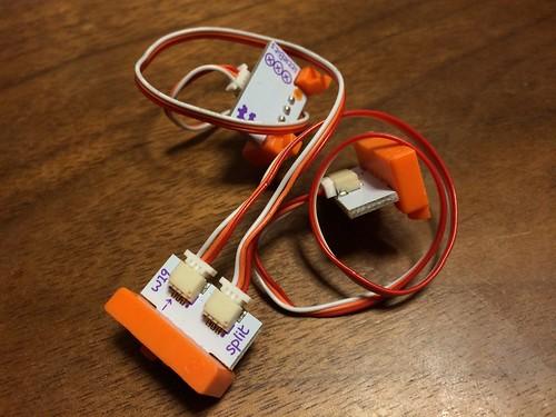 KORG littleBits w19 split