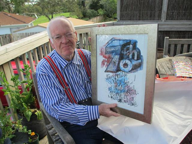 New Zealand Happy 70th Birthday Dad