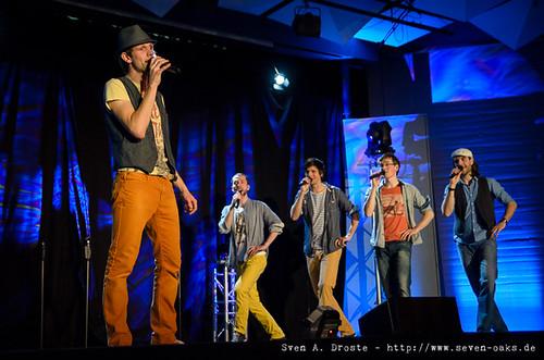 Yannick Flaskamp, Moses Fendel, Axel Sixt, Joachim Geibel & Tobias Malms / Mit ohne Alles (SAD_20131214_NKN3332)