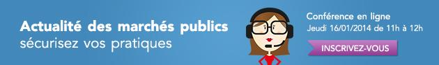 Marchés publics : organiser et sécuriser vos pratiques : conférence en ligne Weka