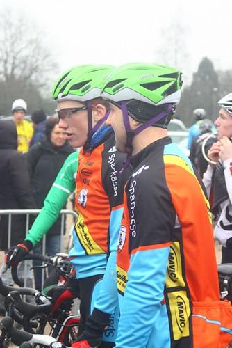 2014.01.19 Das Fahrradkontor CX-Team Hannover vor dem letzten Start