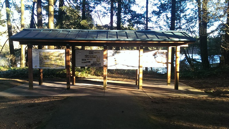 Lacamas Education Kiosk