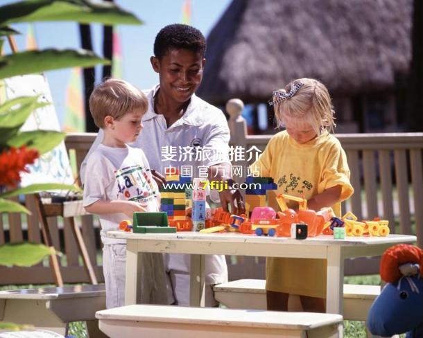 斐济丹娜拉岛喜来登别墅酒店(Sheraton Denarau Villas)儿童俱乐部