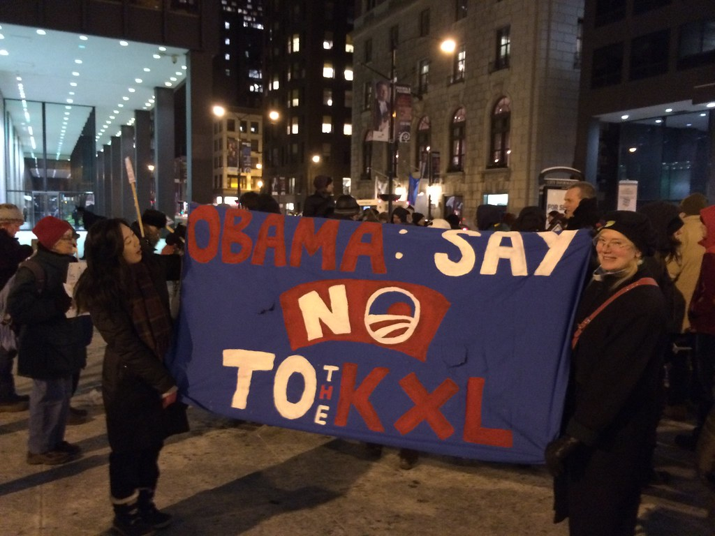 No KXL rally in Chicago