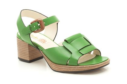 Orla Matilda in green_Orla Kiely for Clarks UK