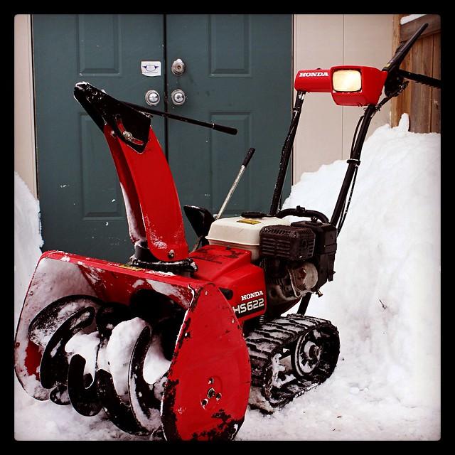 honda hs621 track drive snowblower