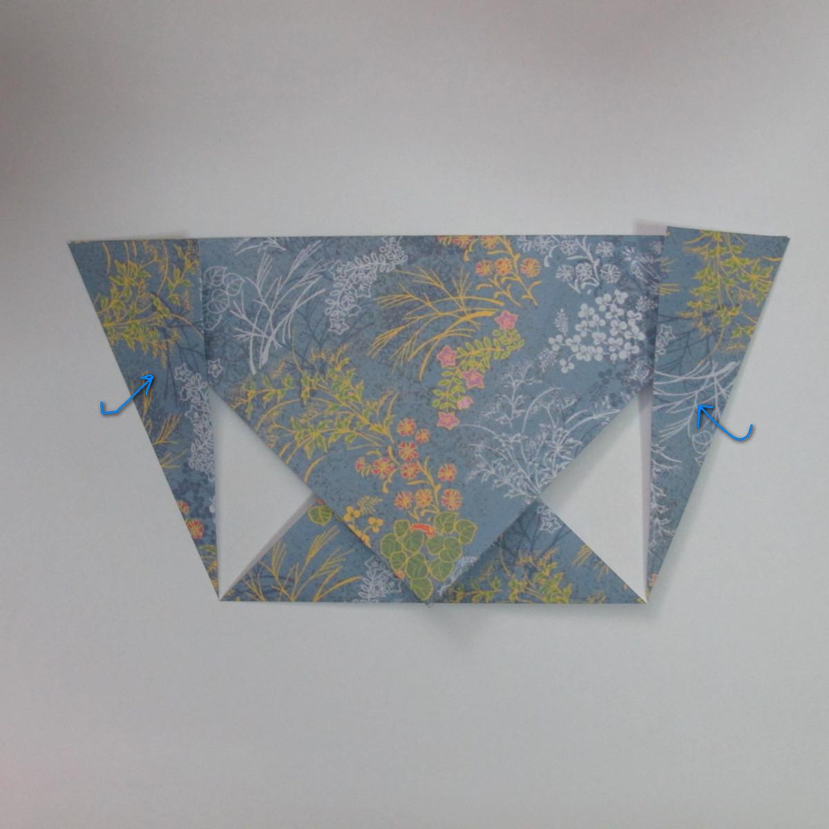 วิธีการพับกระดาษเป็นรูปม้า (Origami Horse) 012