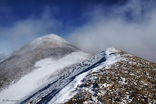nuvole nebbia cresta monteacuto