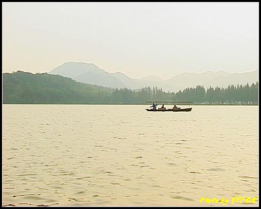 杭州 西湖 (其他景點) - 265 (在西湖十景之 蘇堤 上看西裡湖的黃昏)