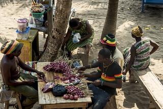 Ghana - Krokrobeach in Kokrobite