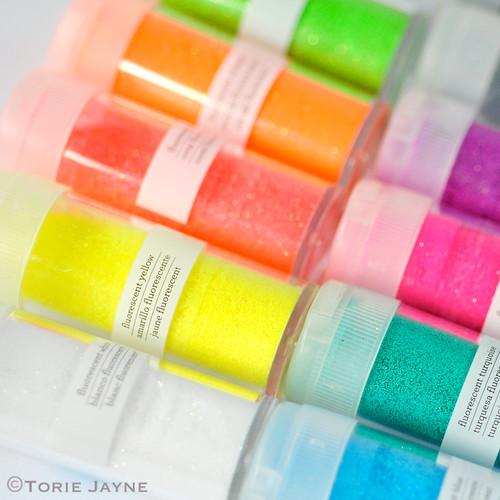 Fluorescent Glitter