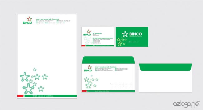 Thiết kế bộ văn phòng công ty tư vấn du học BINCO