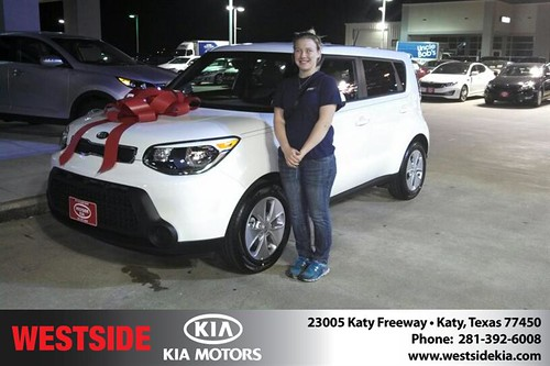 #HappyBirthday to Whitney Peters from Gil Guzman and everyone at Westside Kia! by Westside KIA